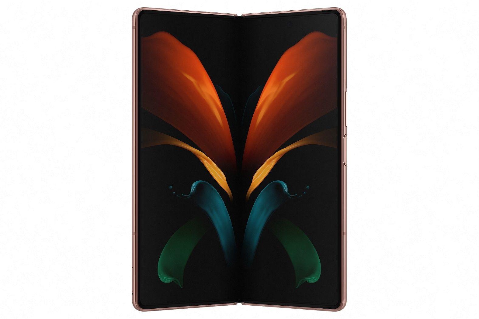 Samsung Galaxy Z Fold 2 face