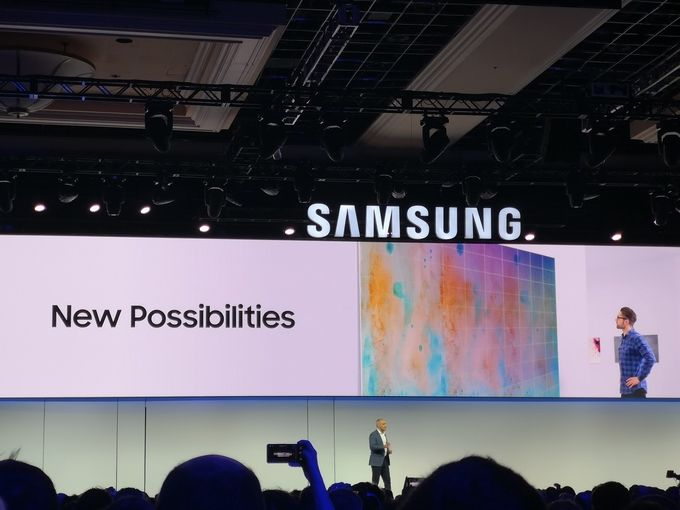 Samsung microLED CES 2019