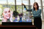 Samsung OLED transparent