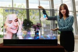 Samsung OLED transparent