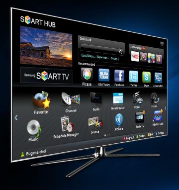 tv connect e samsung se voit num ro un mondial en 2012. Black Bedroom Furniture Sets. Home Design Ideas