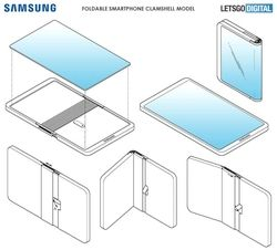 Samsung smartphone pliable