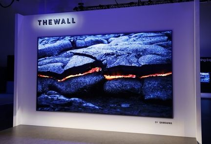 Samsung The Wall microLED