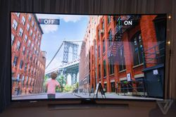 samsung uhd flexible tv