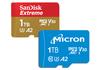 Une carte microSD de 1 To pour SanDisk et Micron