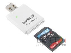 Sandisk ultra ii sdhc 4 go small
