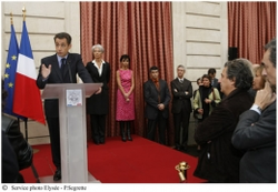 Sarkozy discours rapport olivennes