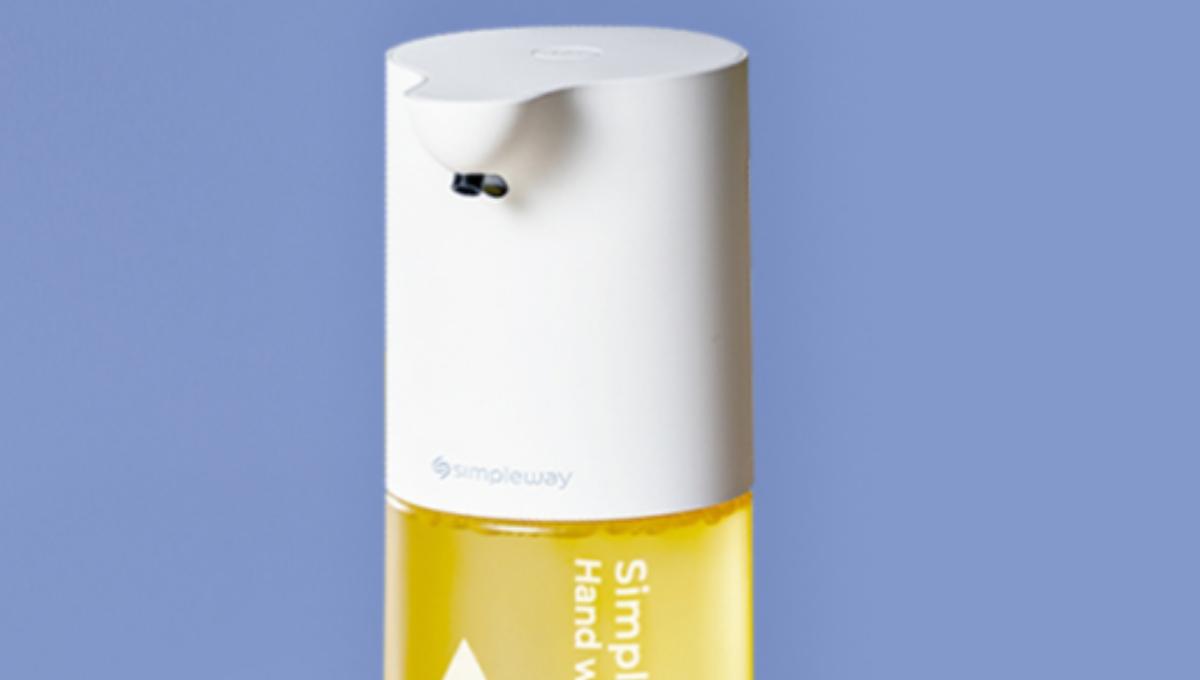 Simpleway propose son distributeur de savon sans contact