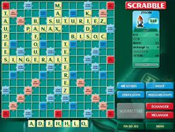 Scrabble Deluxe screen 1