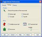 Juggle Mouse : personnaliser son curseur