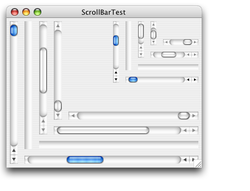 ScrollBar screen1