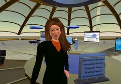 Second life ibm paula summa avatar