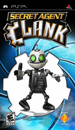 Secret Agent Clank   pochette