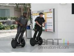 Segway scooter police small