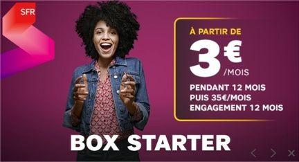 SFR Starter 3 euros