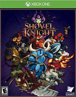 Shovel Knight - pochette Xbox One