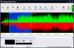 Shuangs Audio Editor screen1