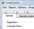 Simple retrieve computer information : voir la fiche technique détaillée de votre PC