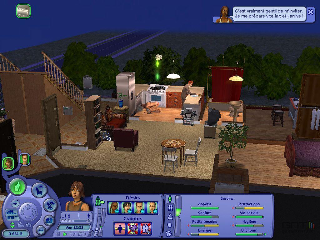 Sims  La Vie En Appartement