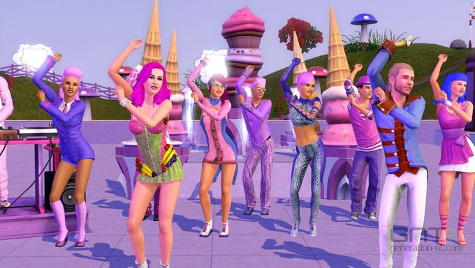 Sims 3 Showtime Katy Perry (4)