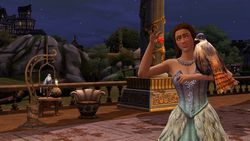 Les Sims medieval pirates & nobles (5)