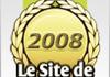 Les sites de l'année 2008 en France