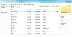 SkyDrive-HTML5