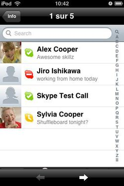 Skype iPhone 01