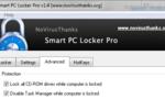 Smart PC Locker : bloquer l'accès à son PC