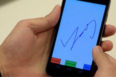 Smartphone-dessiner-mot-passe-forme-libre