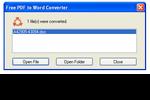 SmartSoft Free PDF to Word Converter : transformer tous ses PDF en documents Word
