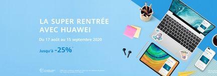 Soldes Huawei Rentrée