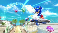 Sonic Free Riders - Kinect (5)