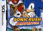 Sonic Rush Adventure - Pochette PAL