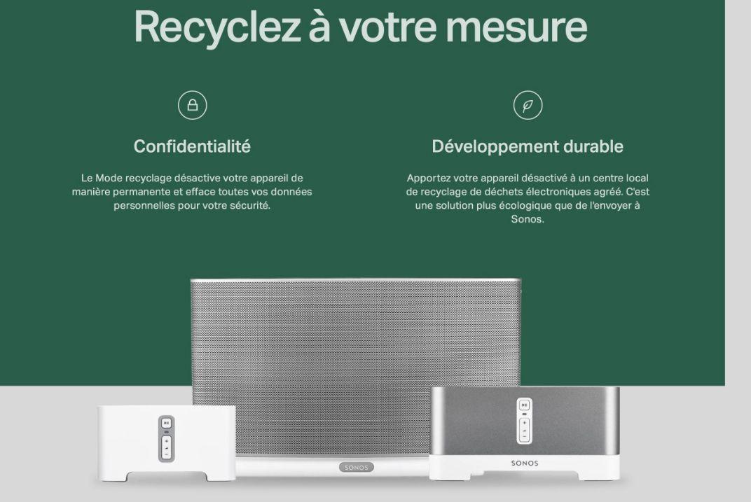 Sonos : une mise à jour qui bricke les enceintes pour encourager le recyclage