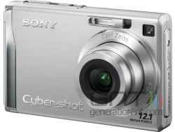 Sony cyber shot dsc w200 small