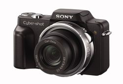 Sony dsc h3 b right