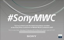 Sony teaser MWC 20173