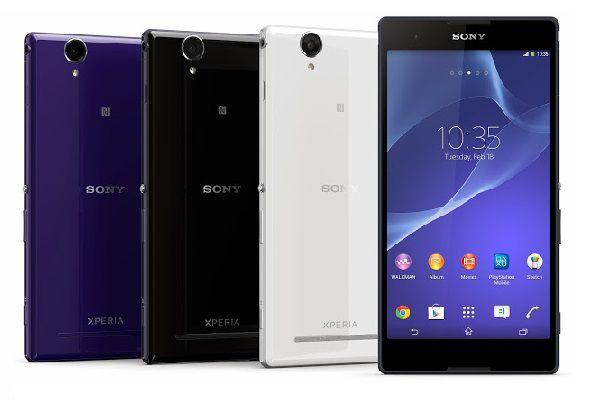 Sony xperia T2 Ultra logo