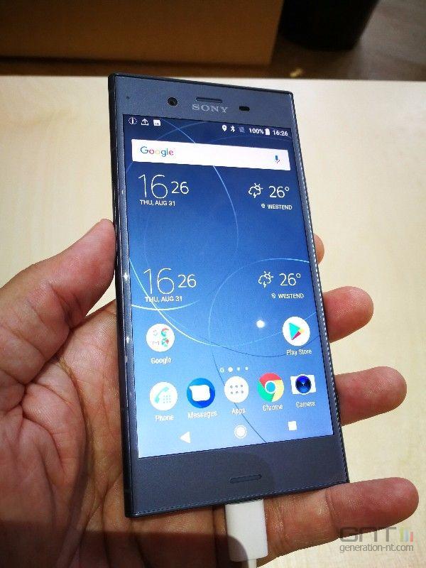 Sony Xperia XZ1 face