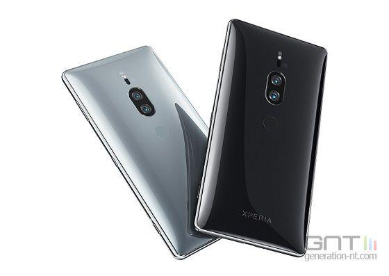 Sony Xperia XZ2 Premium dos