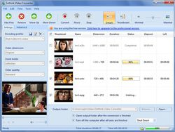 Sothink Video Converter screen
