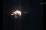 Soyouz en approche ISS