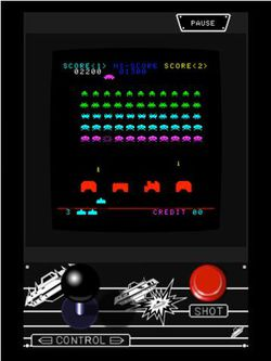 Space Invaders HD Taito iPad 01