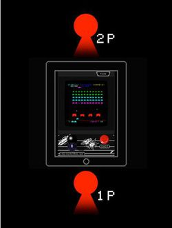 Space Invaders HD Taito iPad 02