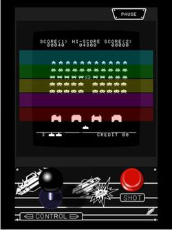 Space Invaders HD Taito iPad 03