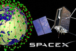 Space X micro satellites