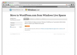 Spaces-Wordpress-migration