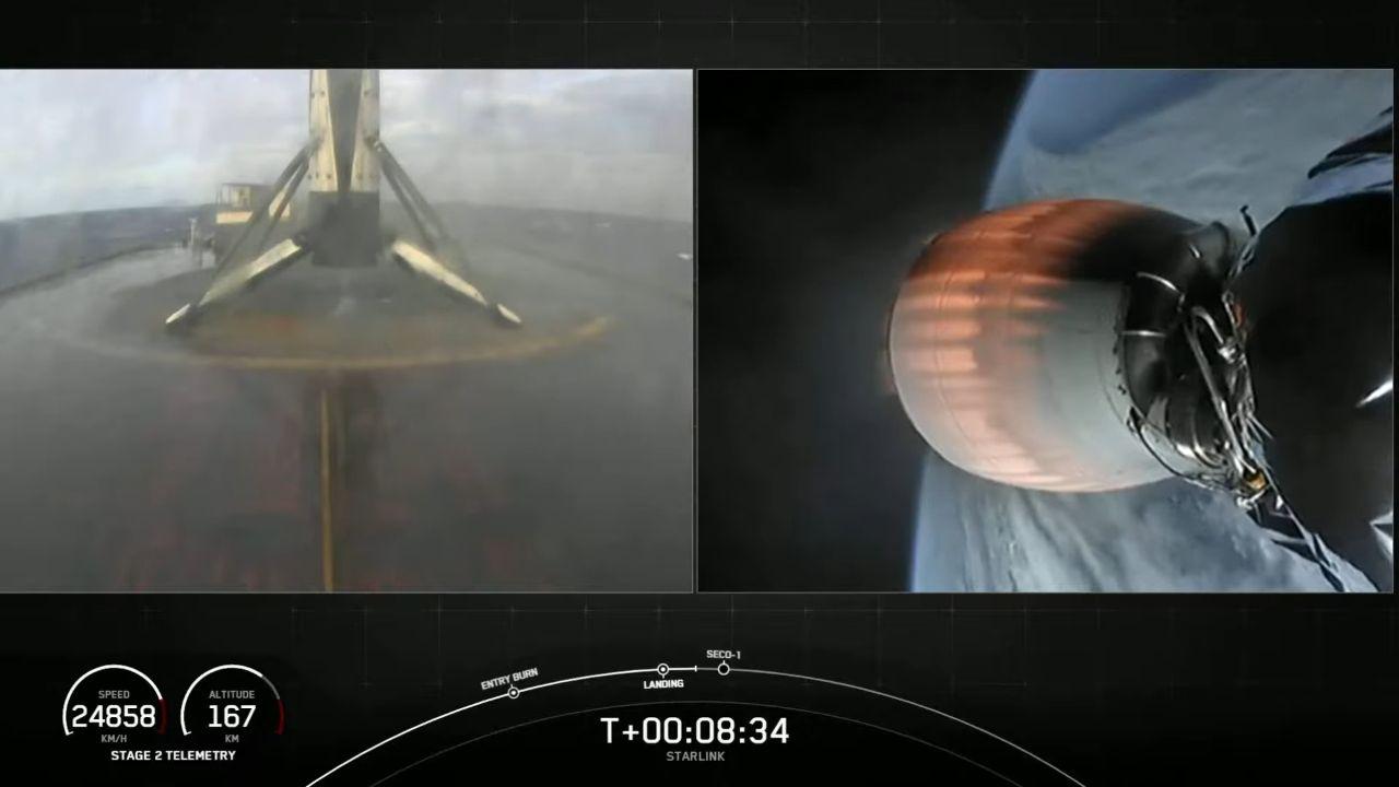 SpaceX déploie 60 satellites Starlink avec un nouveau record de réutilisation