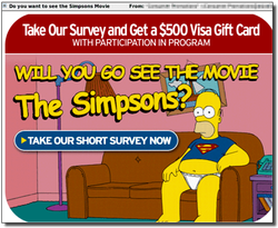 Spam simpsons
